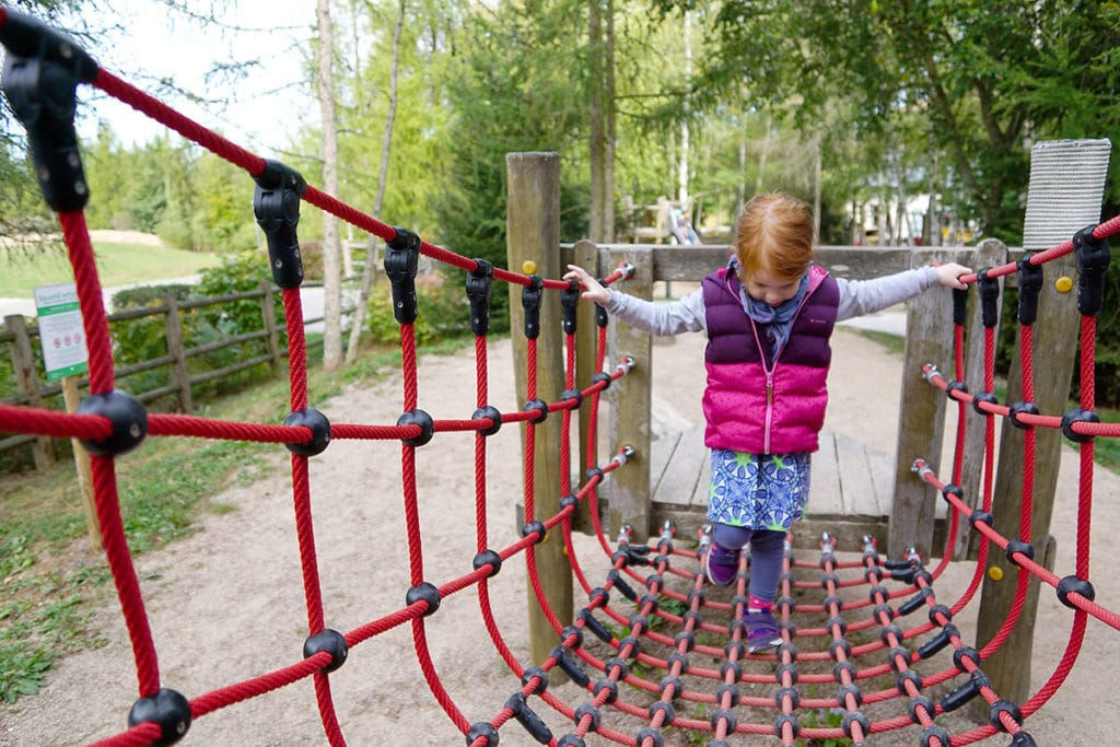 Jeux extérieurs Center Parcs Trois Forêts