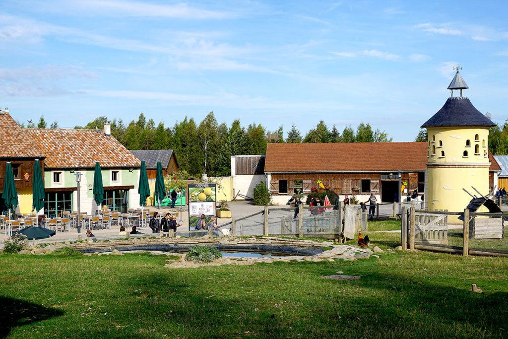 Mini ferme de Center Parcs Trois Forets