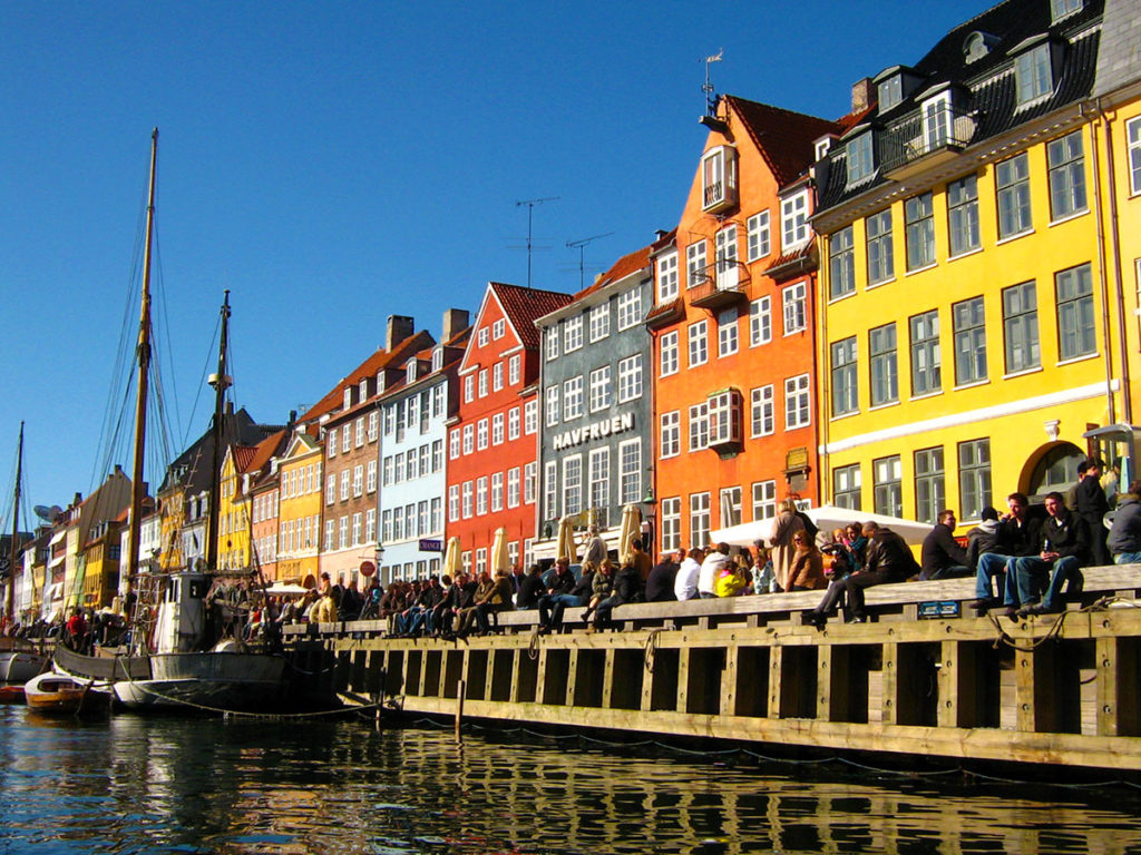 Nyhavn à Copenhague