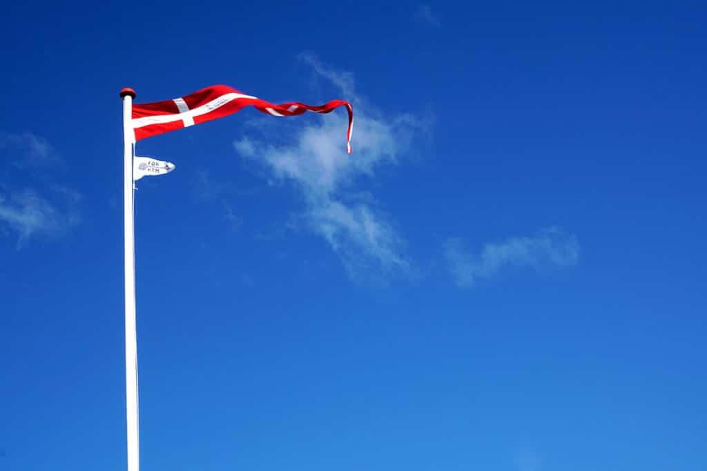 Dannebrog, le drapeau du Danemark