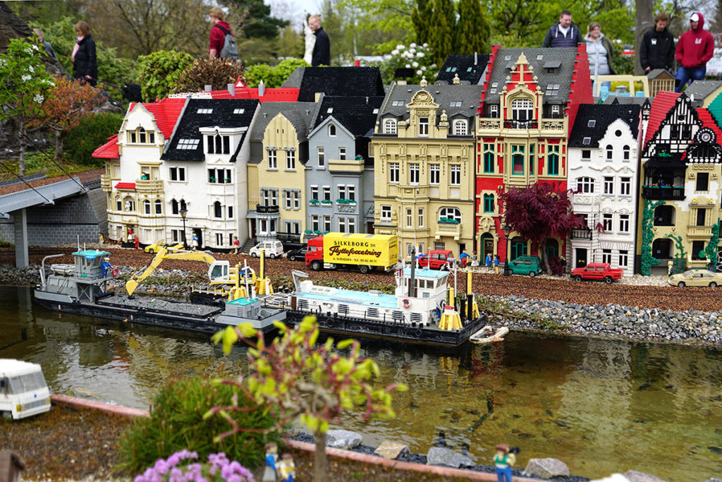 Maquette Legoland Billund