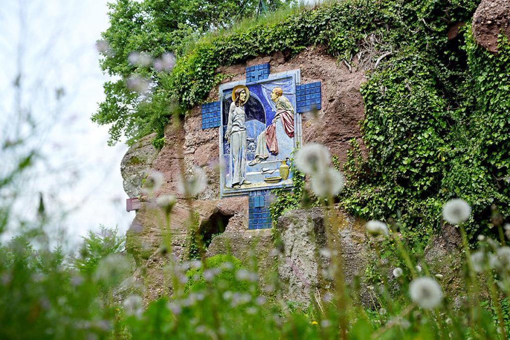 Chemin de croix au Mont Sainte-Odile