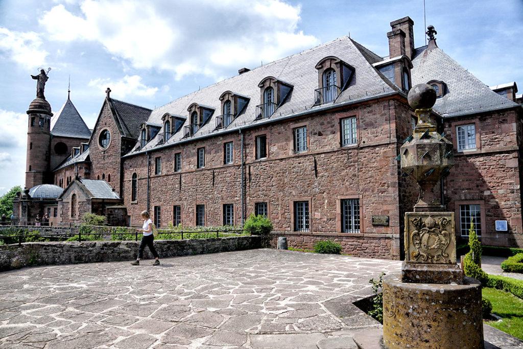 L'abbaye de Hohenbourg au Mont Sainte-Odile
