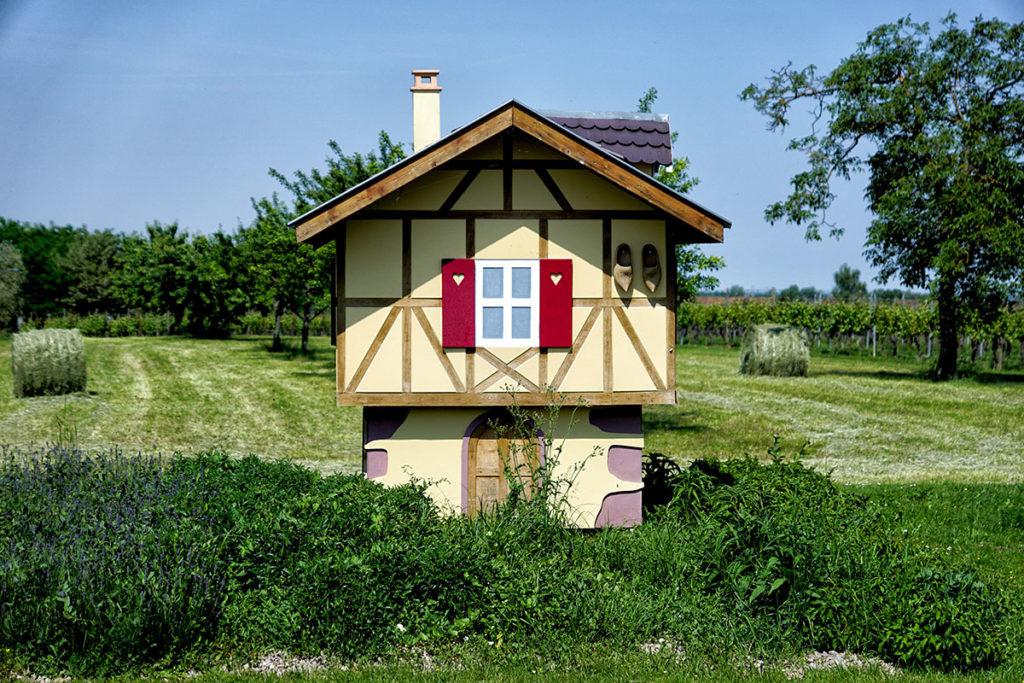 Petite maison alsacienne à l'entrée de Barr