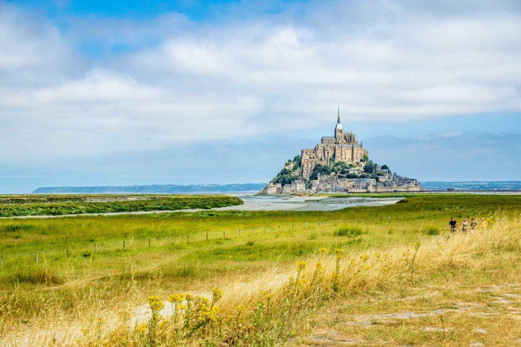 Le Mont Saint-Michel, monument incontournable en Normandie