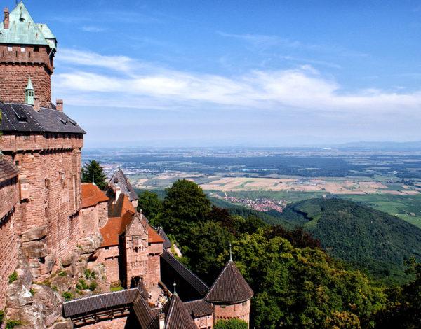 Visite du château du Haut-Kœnigsbourg