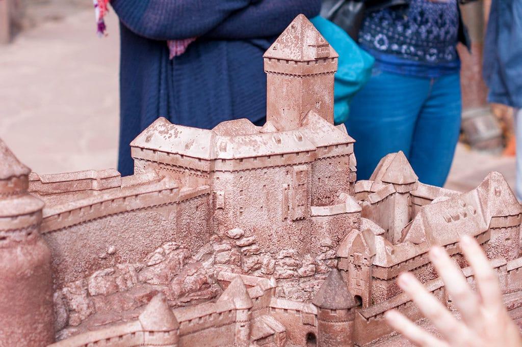 Maquette du château du Haut Koenigsbourg