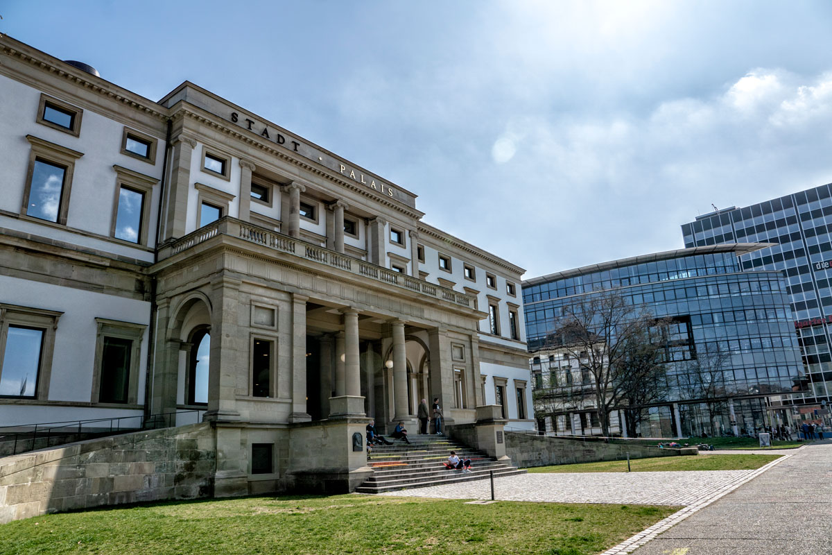 Stadt Palais à Stuttgart