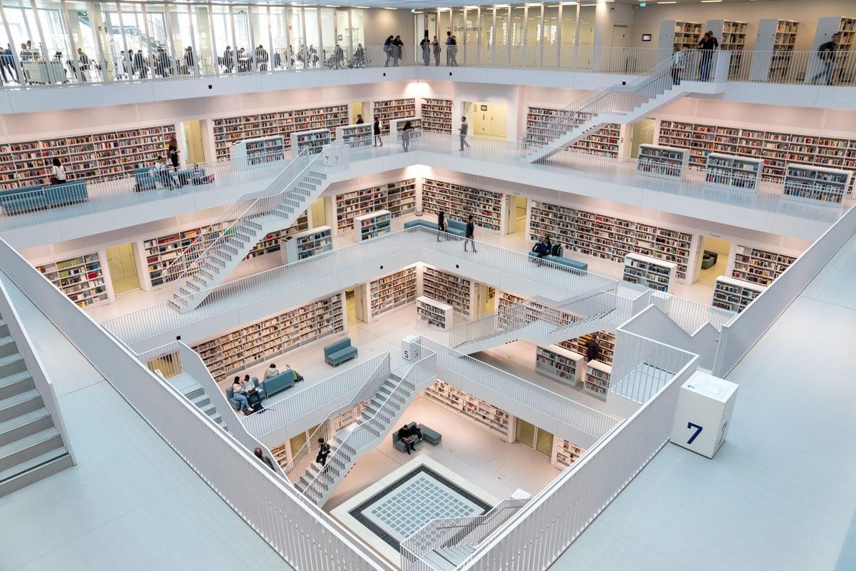 Bibliothèque de Stuttgart - Stadtbibliothek
