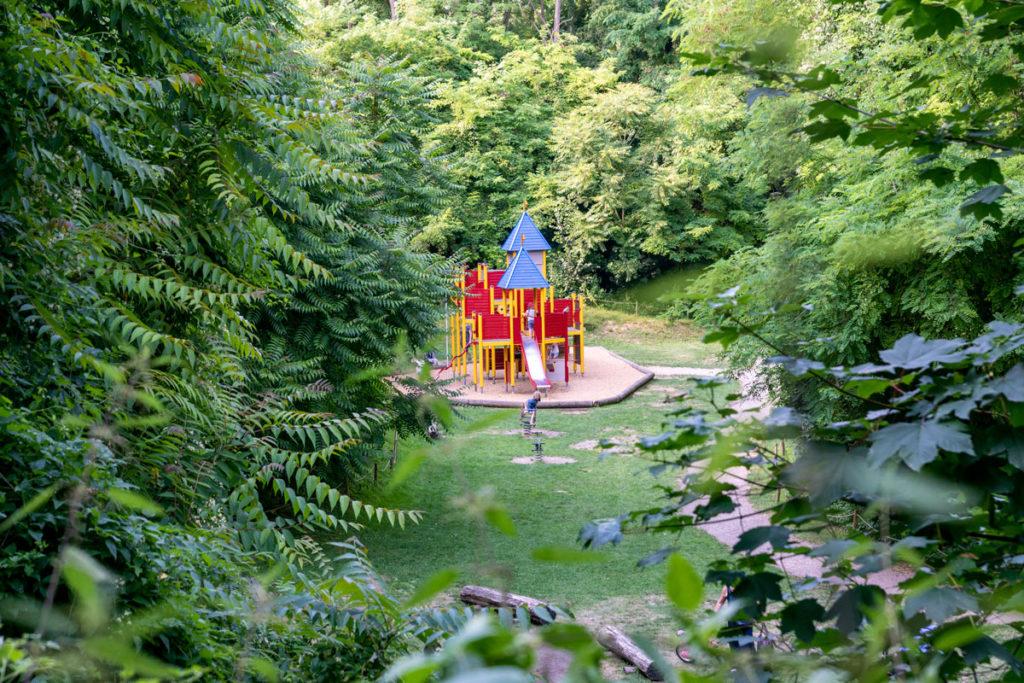 Jeux du parc Kléber à Wolfisheim
