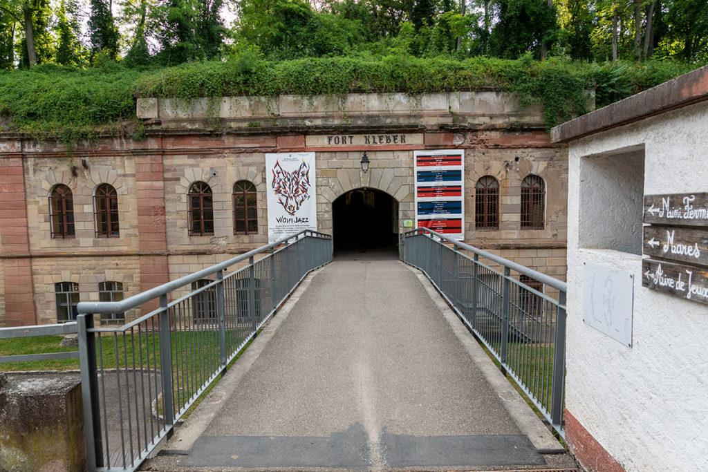 Entrée du Fort Kléber à Wolfisheim