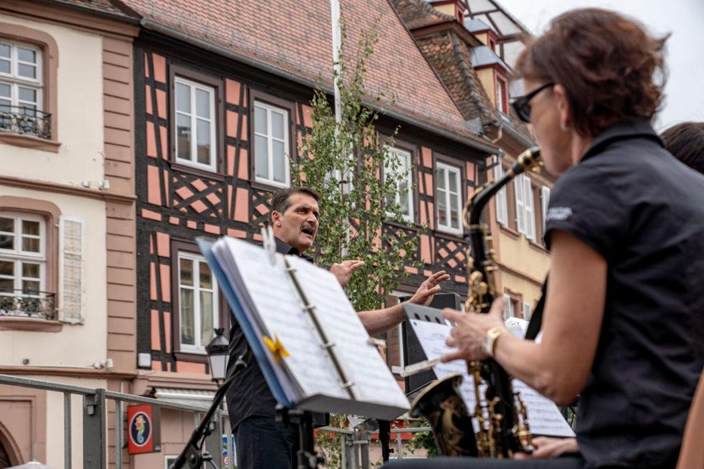 Orchestre à la fête de la pentecôte de Wissembourg