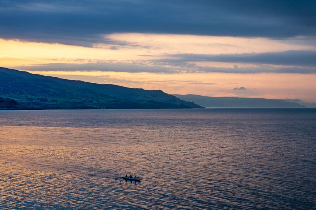 Kayak à Ballygally