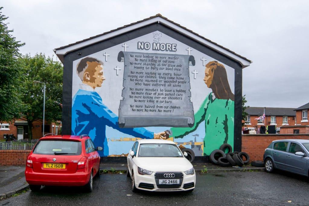 Fresque murale à Belfast