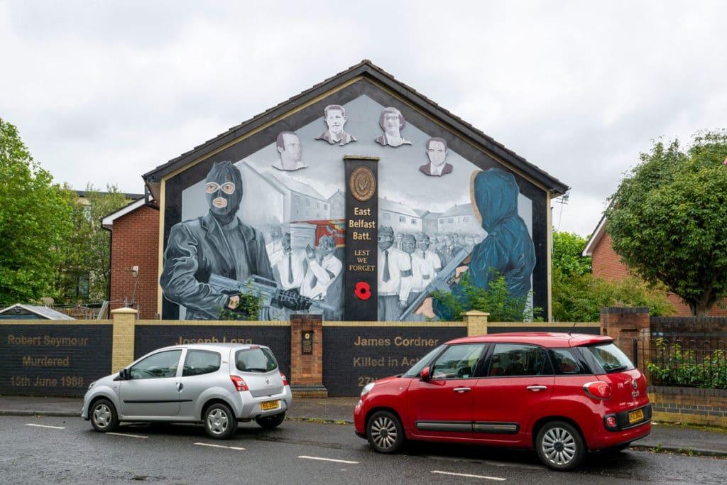 Fresque murale Belfast