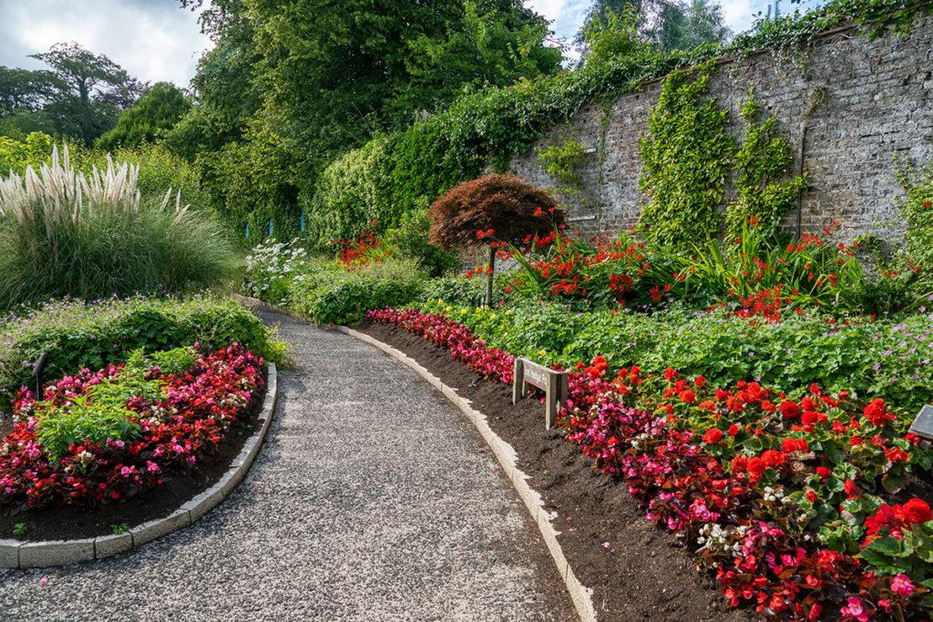 Jardin du parc de Carnfunnock