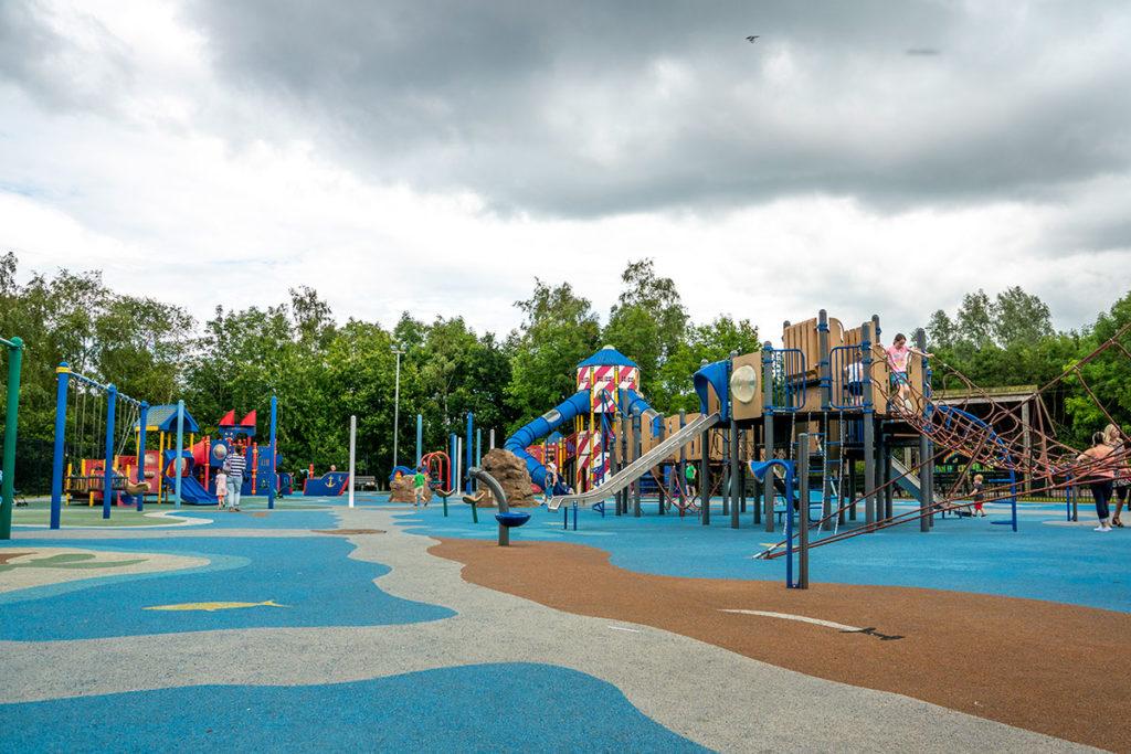 Aire de jeux pour les enfants à Carnfunnock
