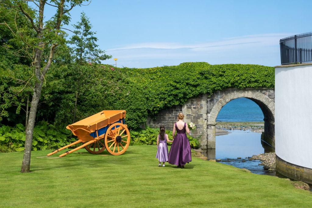 Mariage au château de Ballygally en Irlande du Nord