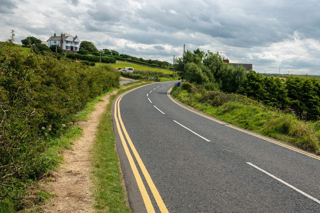 Route en Irlande du Nord