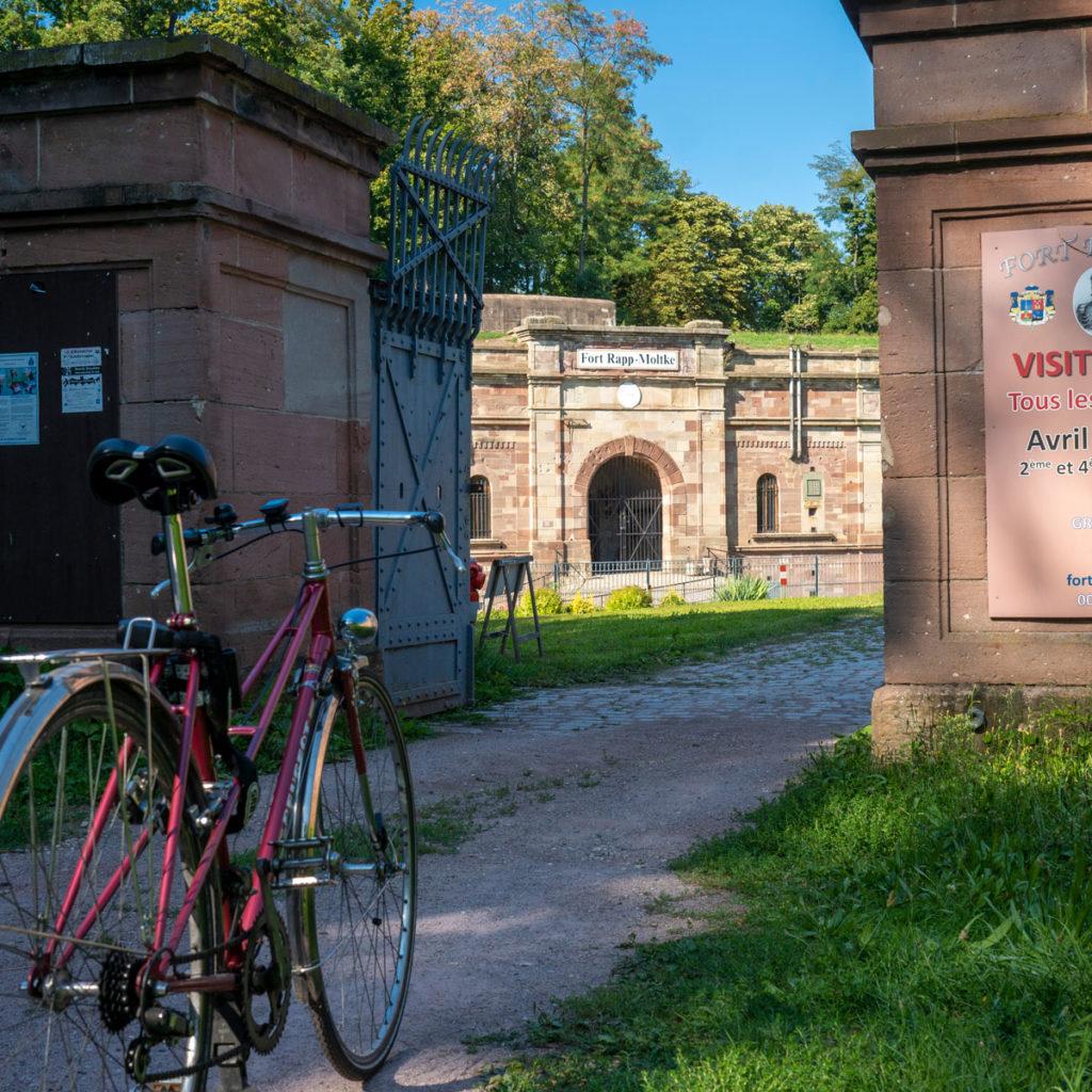 Le Fort Rapp à Reichstett à vélo