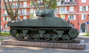 Le char Zimmer, symbole de la libération de Strasbourg