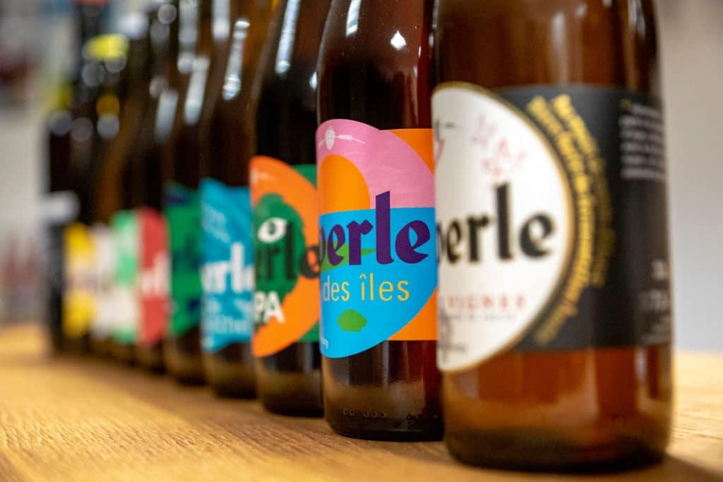 Bière artisanale Perle des îles
