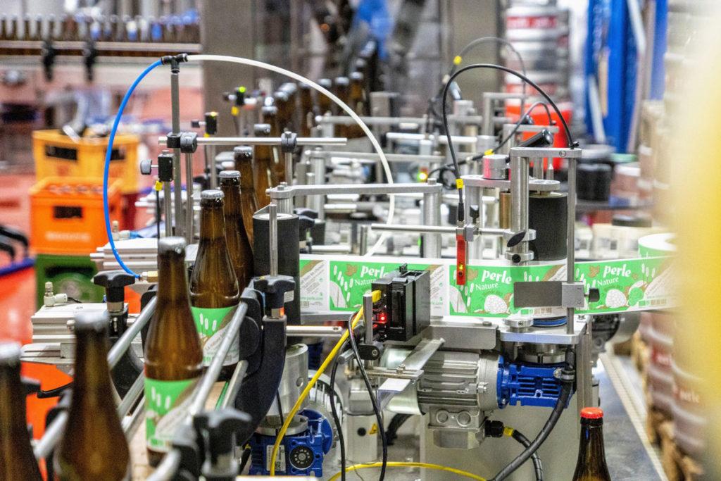 Fabrication bière artisanale Perle