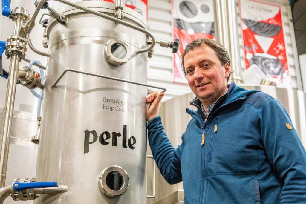 Christian Artzner, brasseur bière Perle