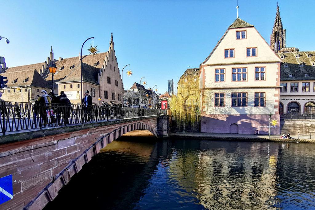 Le Pont du Corbeau à Strasbourg