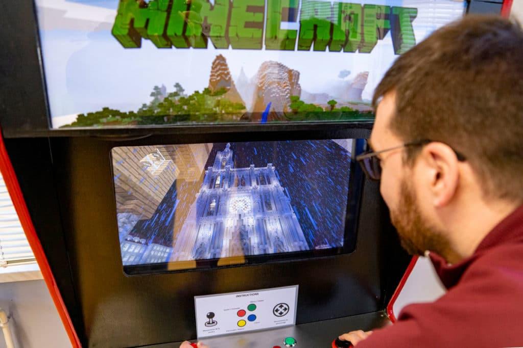 Strasbourg modélisée dans Minecraft