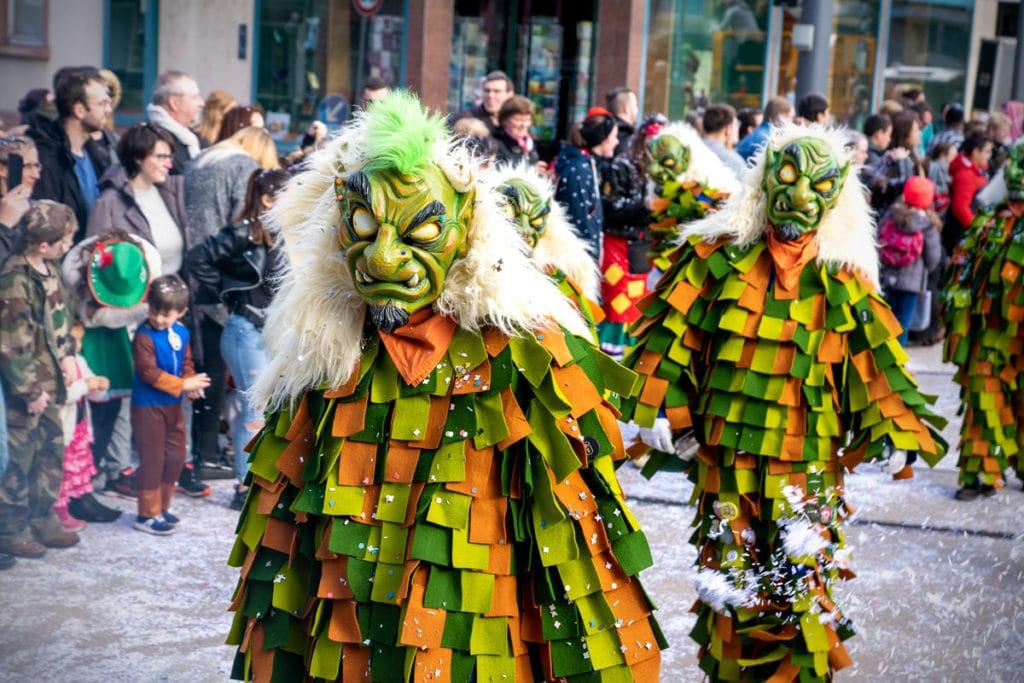 Monstre au carnaval de Kehl