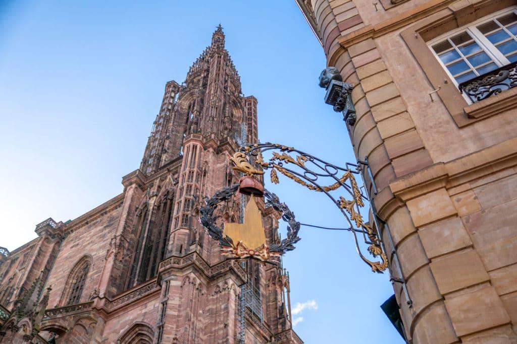Bonnet phrygien de la cathédrale de Strasbourg