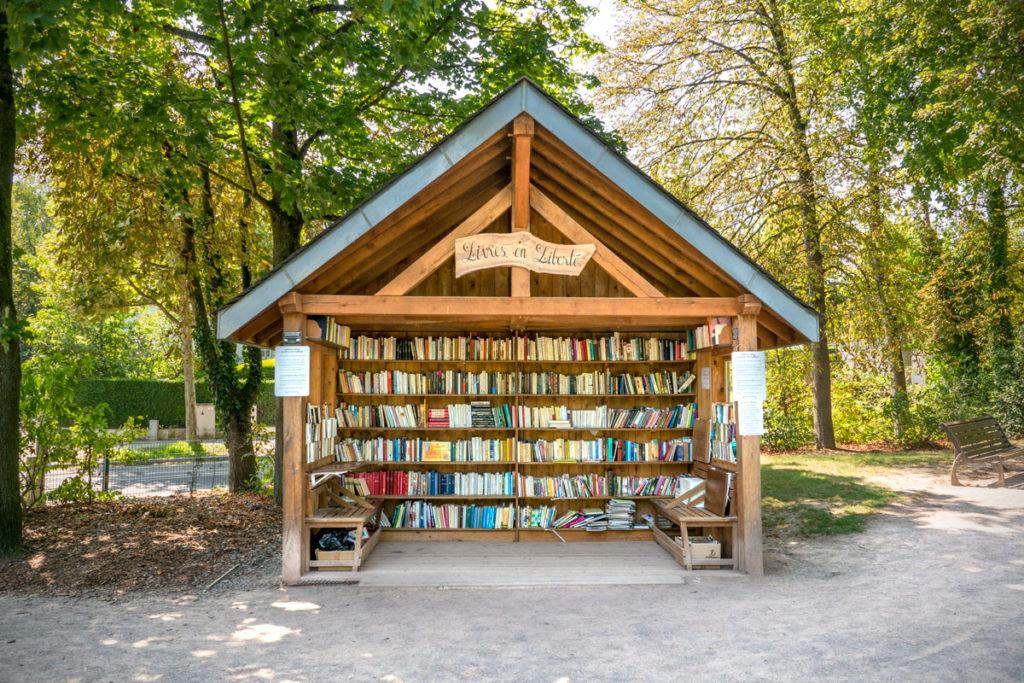 Cabane à livres - Les livres en liberté
