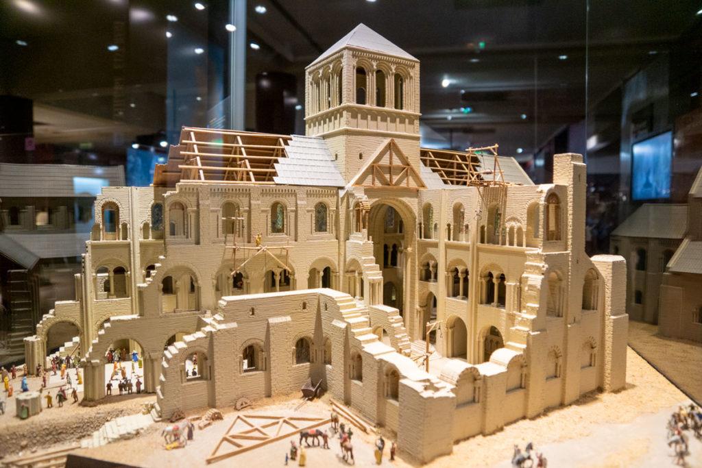 Maquette de la cathédrale de Winchester