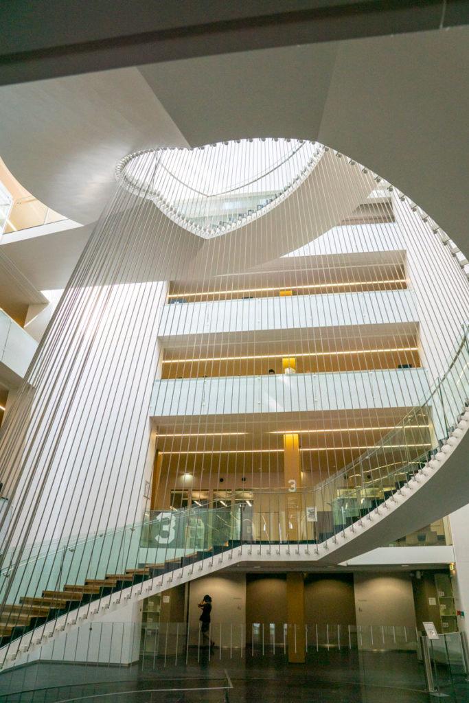 Escaliers de la BNU
