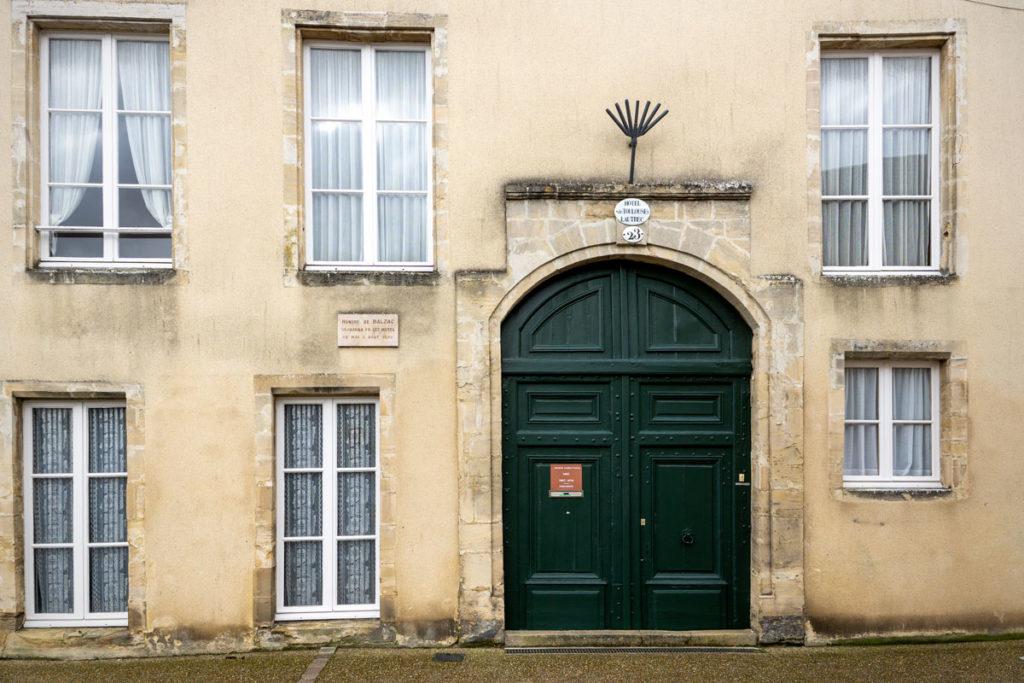 La maison de Balzac à Bayeux