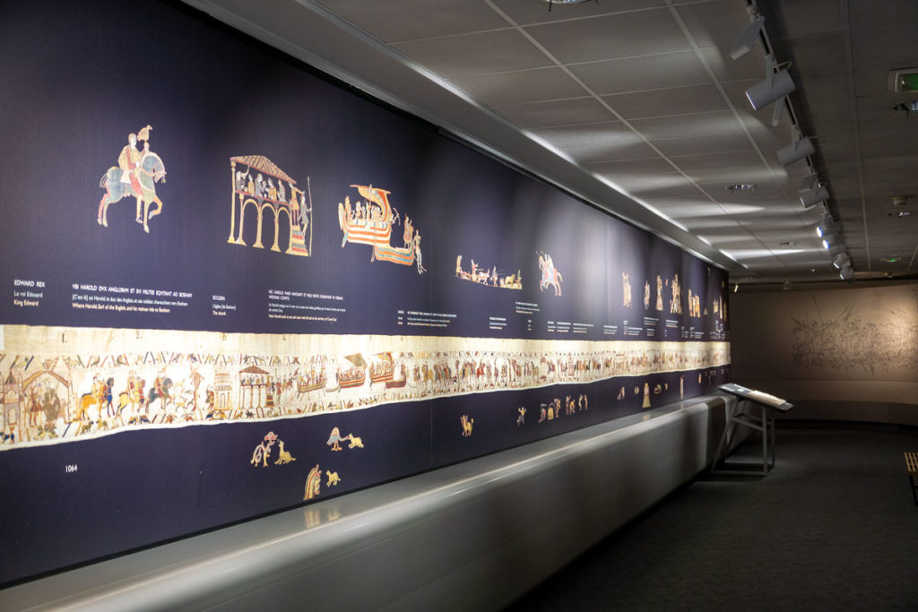 Explications de la tapisserie de Bayeux