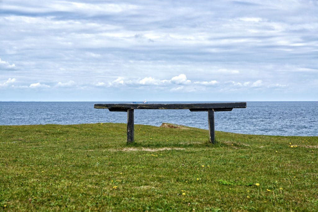 Boat on the bench