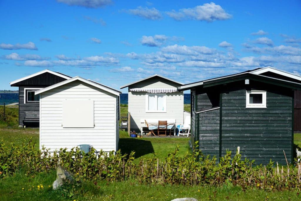 Cabanes de plages à Kerteminde