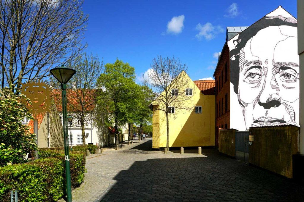 Fresque murale Hans Christian Andersen