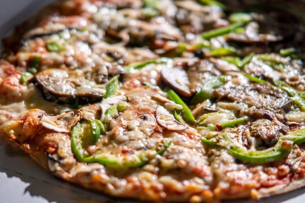 Pizza végétarienne sans gluten Mzelle Sans Gene