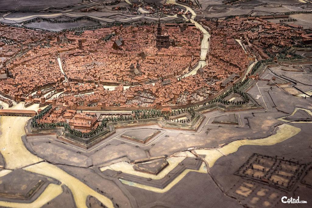 Plan relief de Strasbourg (Ladevèze)