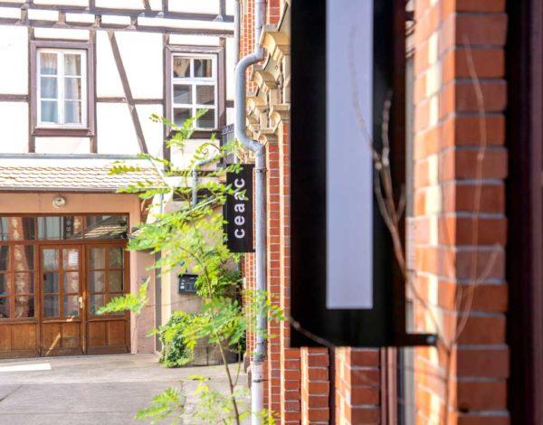 Visite du CEAAC, le centre d'art contemporain de Strasbourg