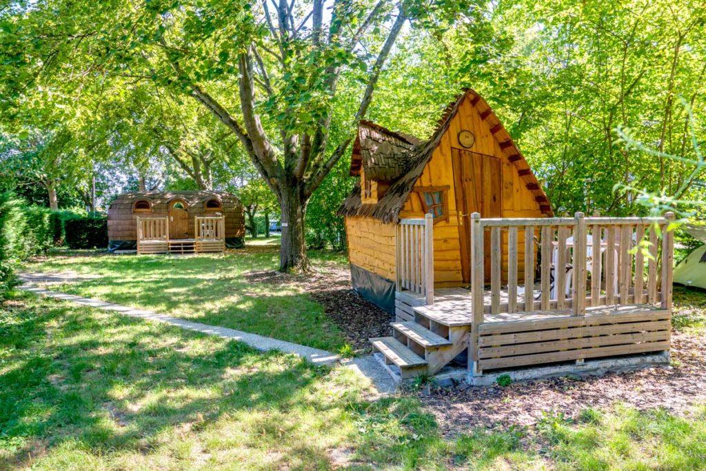 Hébergements insolites au camping de Mulhouse