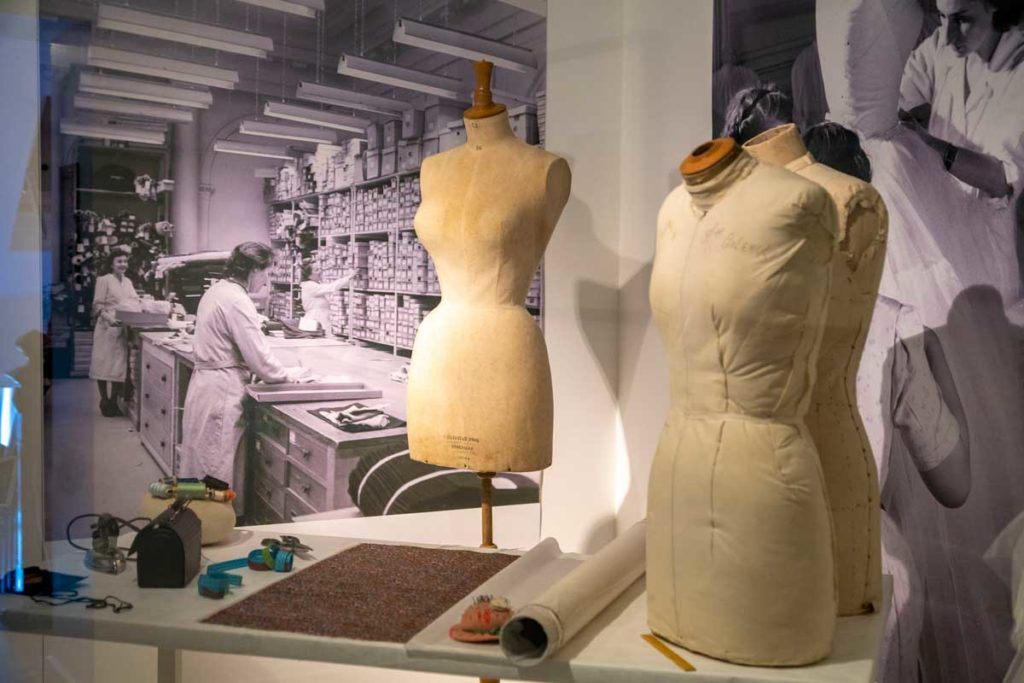 Mannequins atelier Christian Dior