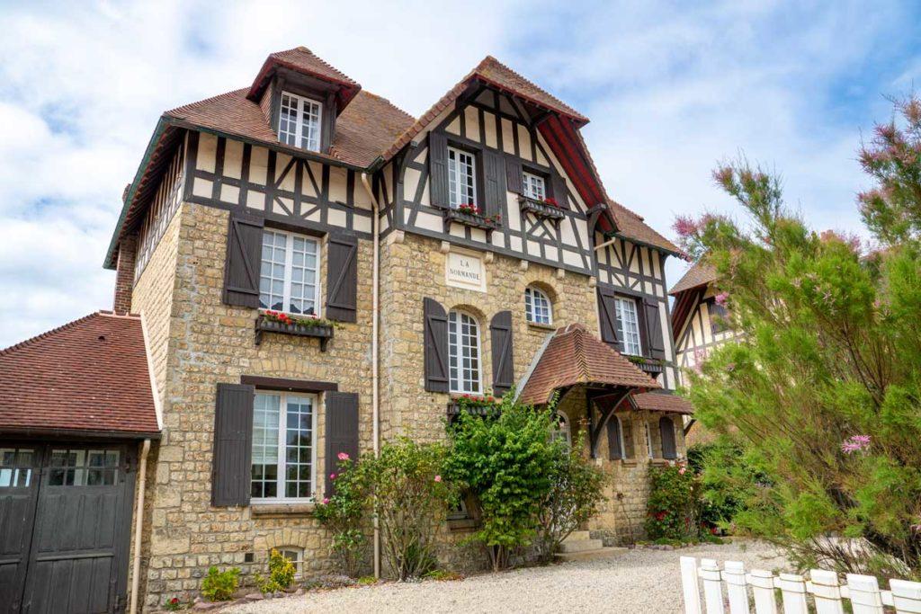 Villa normande de bord de mer à Villers-sur-Mer
