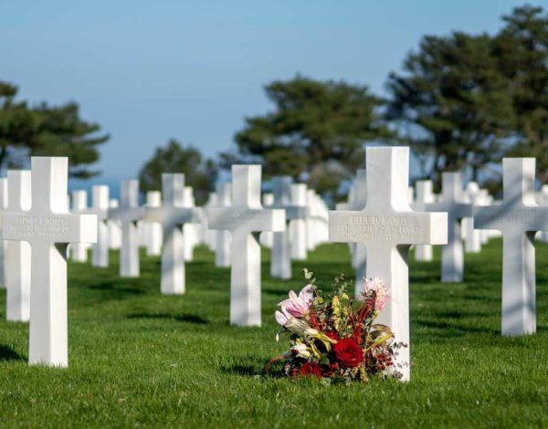 Visiter le cimetière américain de Colleville en Normandie