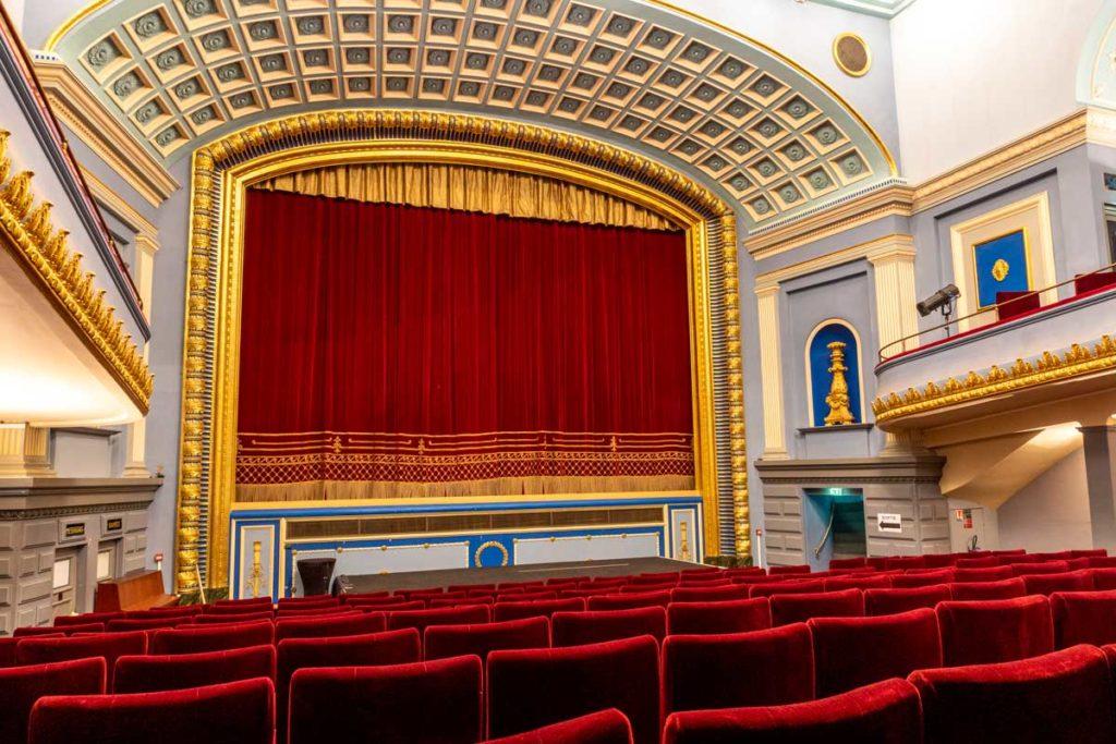 Salle du cinéma l'Odyssée à Strasbourg