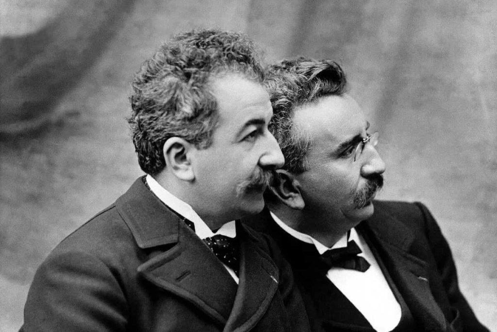 Les frères Lumière, inventeurs du cinéma