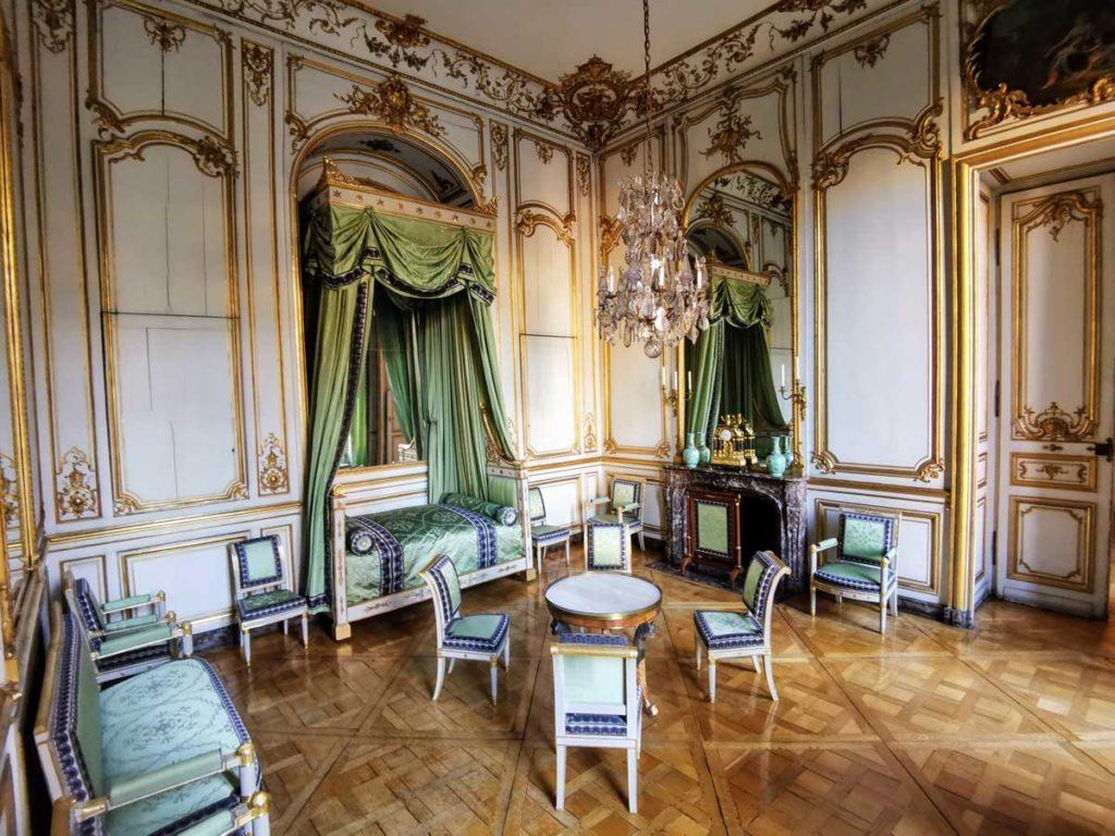 La chambre de Napoléon 1er au Palais Rohan